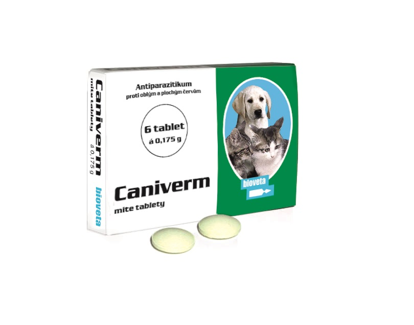 CANIVERM mite tablety